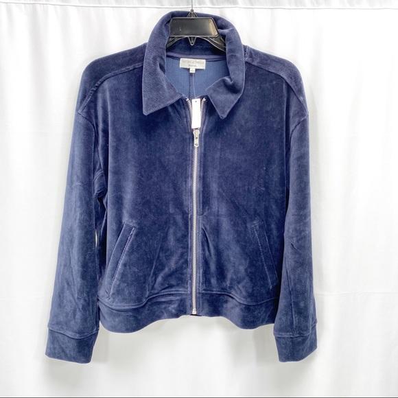 madewell corduroy bomber jacket